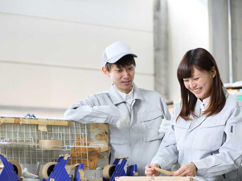 <毎月もらえる3万円!>製造一切なしの簡単梱包作業です♪事業拡大によりボーナス付きのおすすめ求人です!